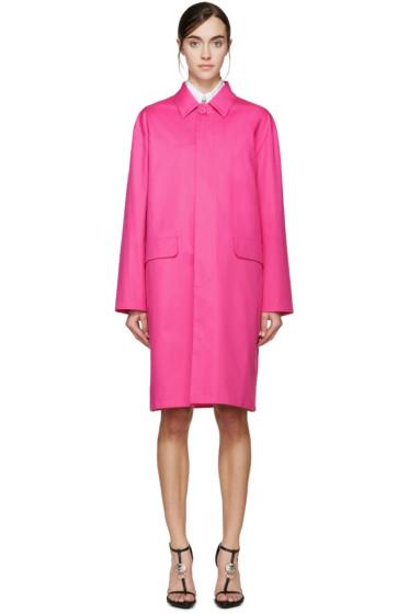Dsquared2 - Fuchsia Cotton Coat
