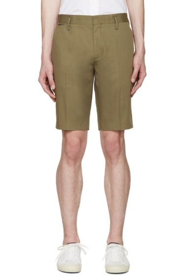 Marc Jacobs - Green Cotton Shorts