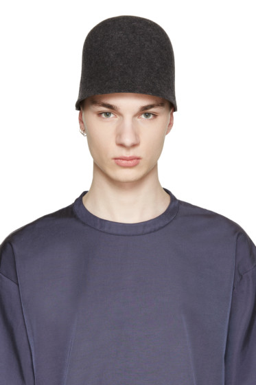 Robert Geller - Grey The Jacobs Hat