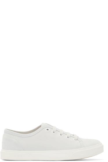 A.P.C. - Grey Suede Pam Tennis Sneakers