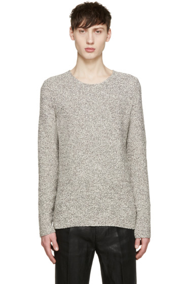 Paul Smith - Grey Melange Crewneck Sweater
