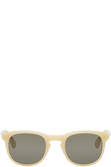 Dries Van Noten - Ecru Acetate Sunglasses