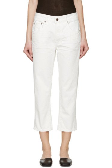6397 - White Sporty Jeans