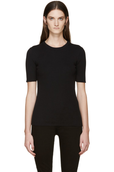 Frame Denim - Black Le Crew Sweater