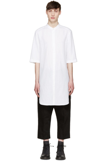 Thamanyah - White Long Shirt