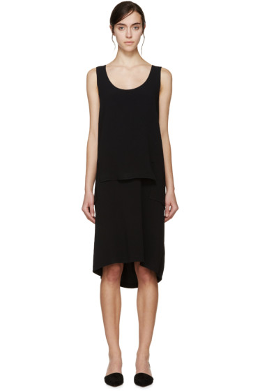 Maiyet - Black Double Layer Dress