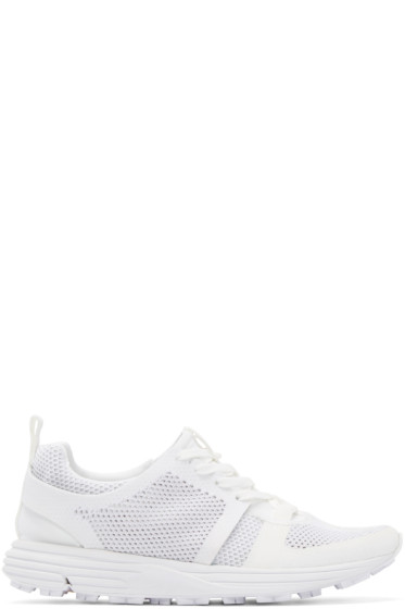 Marcelo Burlon County of Milan - White Mesh Conchali Sneakers