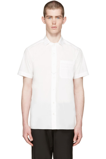 Undecorated Man - White Poplin Shirt