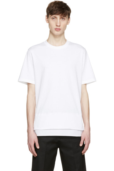 OAMC - White Layered T-Shirt