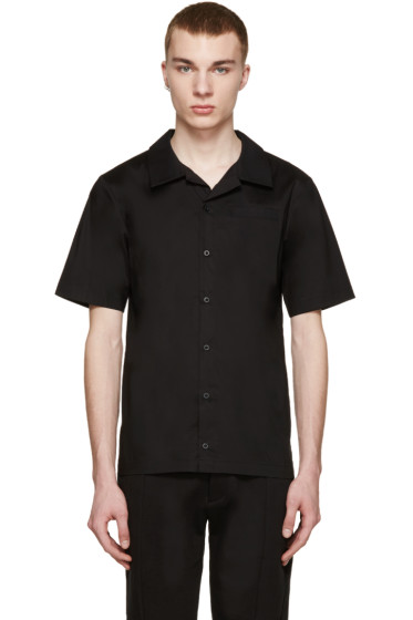 D by D - SSENSE Exclusive Black Bowling Shirt