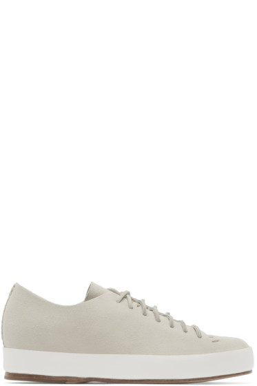Feit - Beige Hand Sewn Sneakers