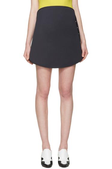 Courrèges - Navy Circular Miniskirt