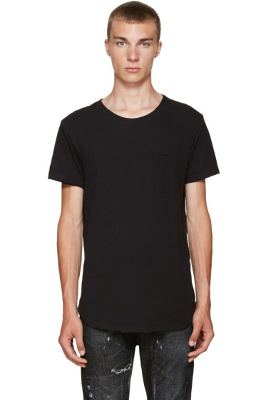 R13 - Black Pocket T-Shirt