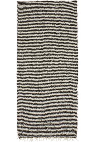 Rag & Bone - Black & White Ava Scarf