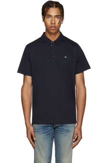 Rag & Bone - Navy Standard Issue Polo