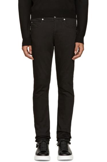 McQ Alexander McQueen - Black Strummer 02 Jeans
