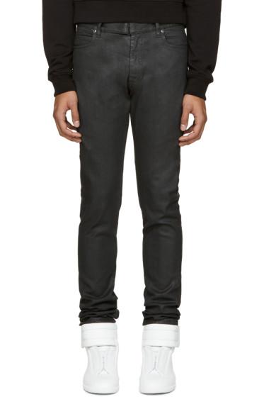 Maison Margiela - Black Coated Jeans