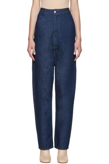 MM6 Maison Margiela - Indigo High-Rise Jeans