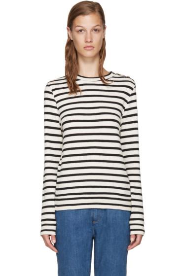 A.P.C. - Navy & White Nova Sweatshirt