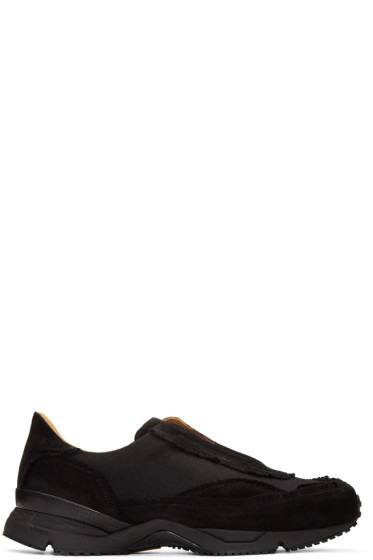 Damir Doma - Black Freud Slip-On Sneakers