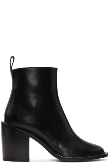 Givenchy - Black Chain Boots