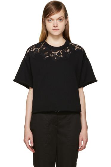 3.1 Phillip Lim - Black Lace Pullover
