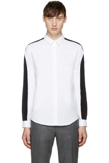 Carven - White Grosgrain Shirt