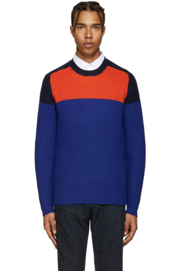 Carven - Multicolor Colorblock Sweater