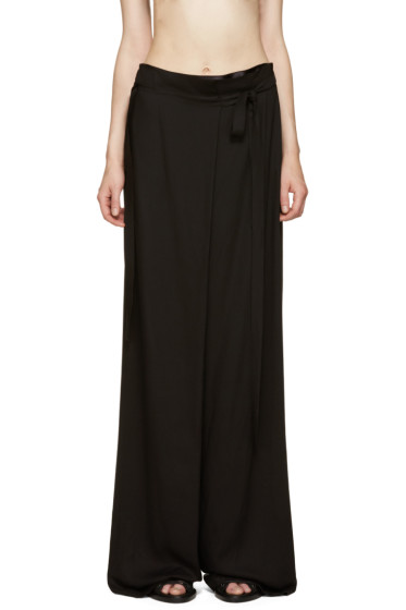 Ann Demeulemeester - Black Infinity Trousers