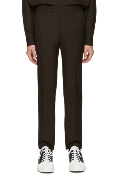 Marni - Brown Wool Trousers
