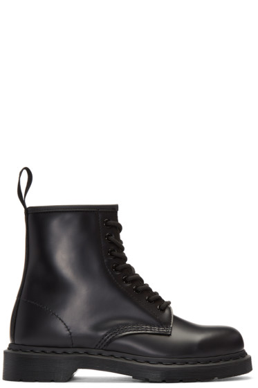 Dr. Martens - Black Eight-Eye 1460 Mono Boots