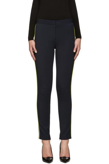 Versace - Navy Side Stripe Trousers