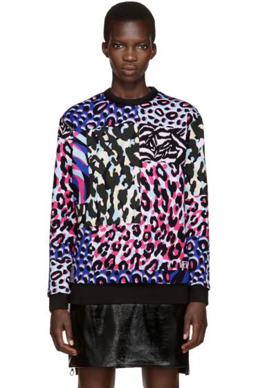 Versace - Multicolor Camopard Sweatshirt