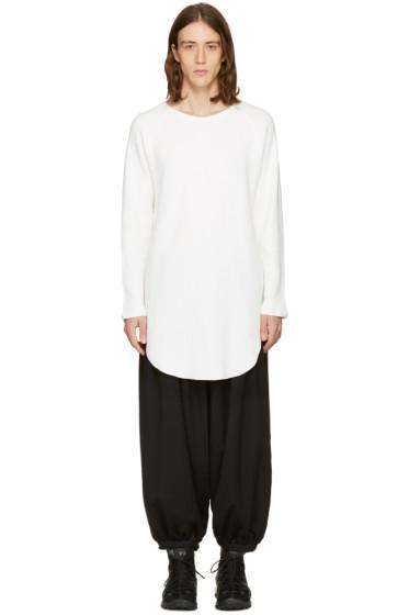 Sasquatchfabrix - White Cut Sewn Pullover