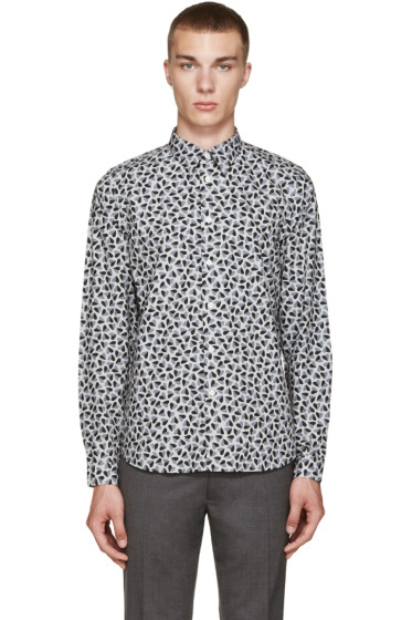 PS by Paul Smith - Grey Hearts Shirt