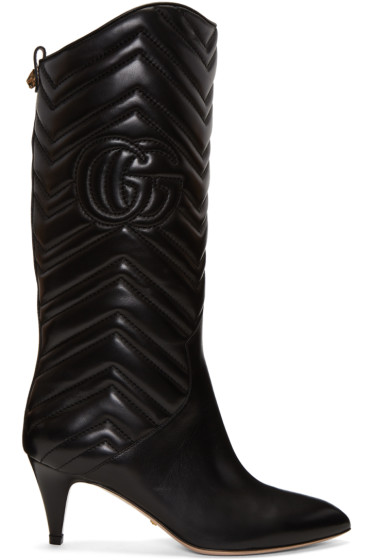 Gucci - Black Nina Boots