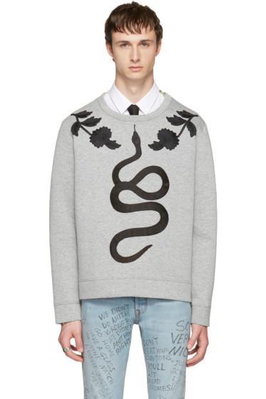 Gucci - Grey Snake Sweatshirt