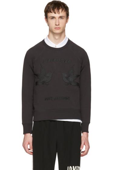 Gucci - Black 'L'Aveugle Par Amour' Sweatshirt
