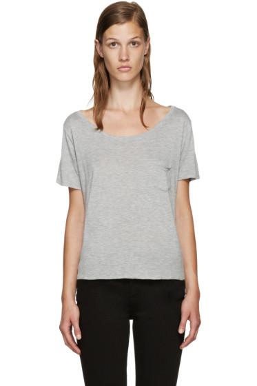 Frame Denim - Grey Le Boxy T-Shirt