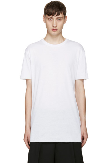 Thamanyah - White Cotton T-Shirt