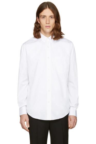AMI Alexandre Mattiussi - White Summer Fit Shirt