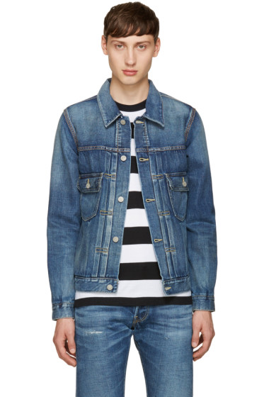 Visvim - Indigo Denim Damaged Jacket