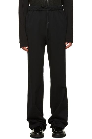 Yang Li - Black Drawstring Trousers