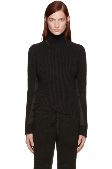 Haider Ackermann - Black Mohair Xaviera Turtleneck