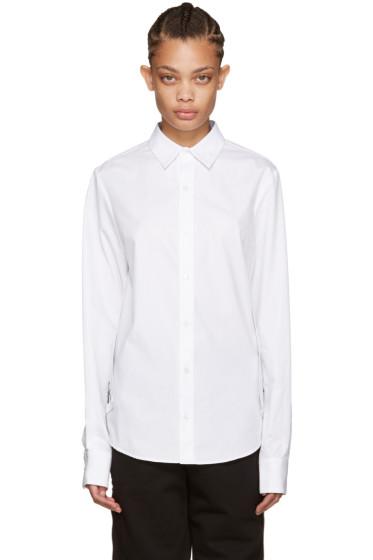 Hood by Air - White Poplin Stingray Shirt