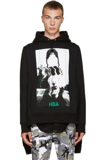 Hood by Air - Black Montgomery Double Hoodie
