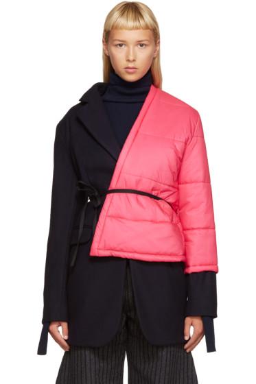 Jacquemus - Navy Layered Coat