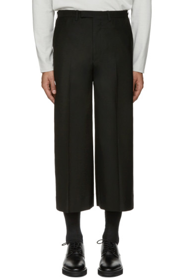 Lad Musician - Black Cropped Trousers