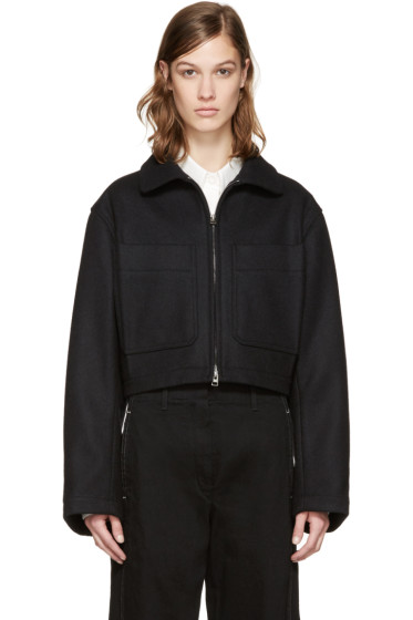 Lemaire - Black Wool Jacket