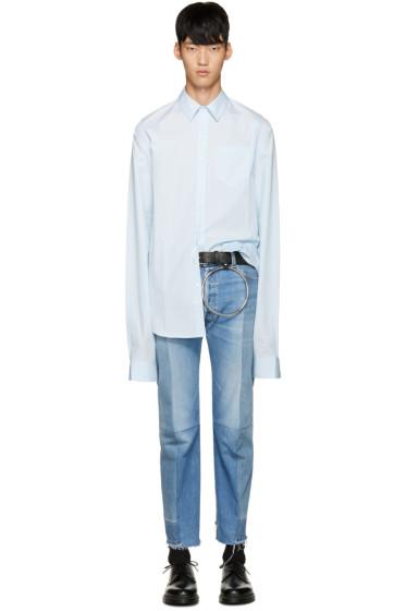 Vetements - Blue Poplin Shirt